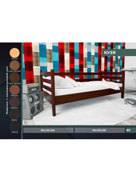 Детская деревянная кровать Кузя