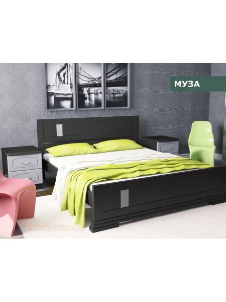 Деревянная кровать Муза
