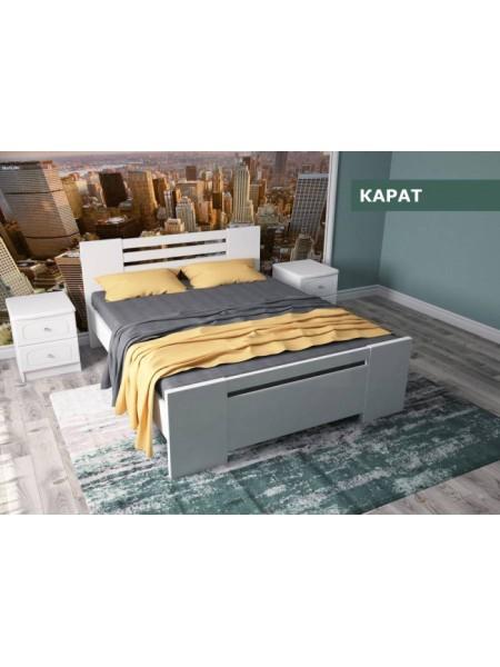 Деревянная кровать Карат