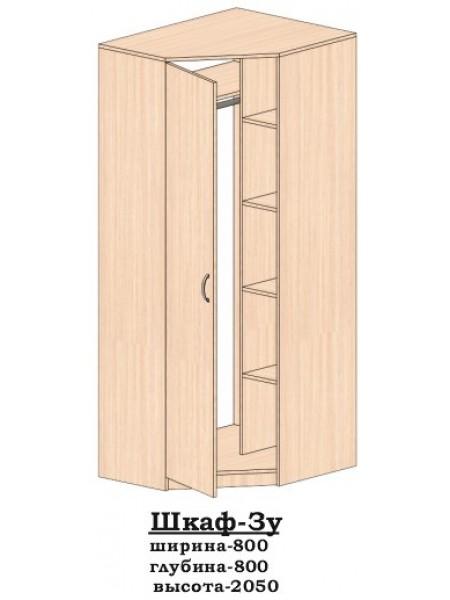 Шкаф угловой 3у Алекса