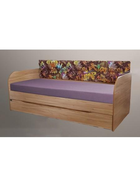 """Кровать  """" Л-10 """" два спальных места Лион"""