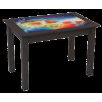 Стол обеденный со стеклом Феникс