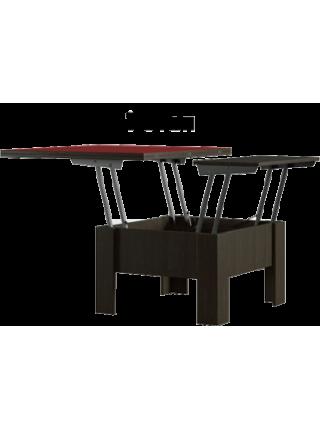Стол-трансформер Феникс (стекло)
