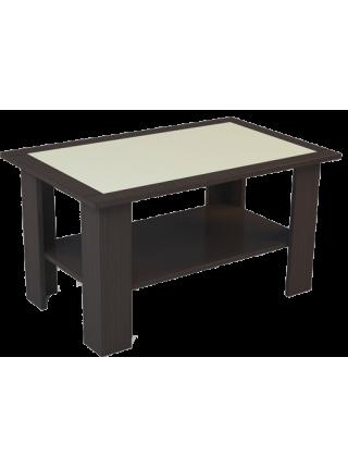 Стол журнальный со стеклом Куб