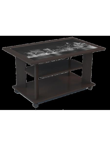 Стол журнальный со стеклом Омега