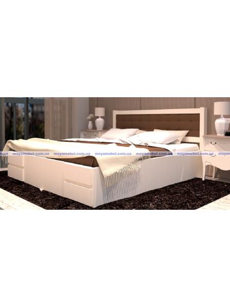 Деревянная кровать Карпаты-2