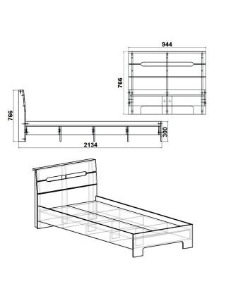 """Кровать """"Стиль-90"""""""
