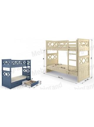"""Кровать двухъярусная """" Мальта """""""