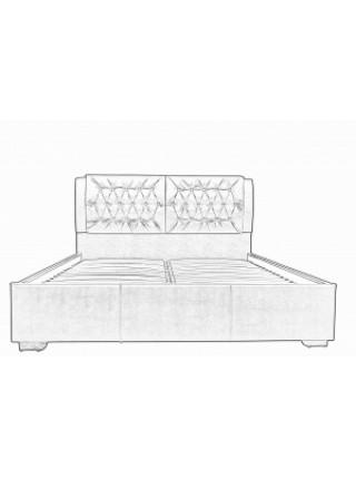 Кровать двуспальная Моника