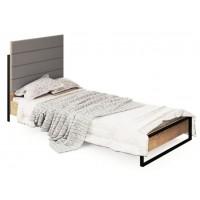 Кровать односпальная с преклонным быльцем Лофт