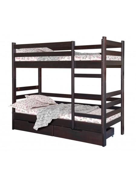 Двухъярусная кровать  Тони с ламелями