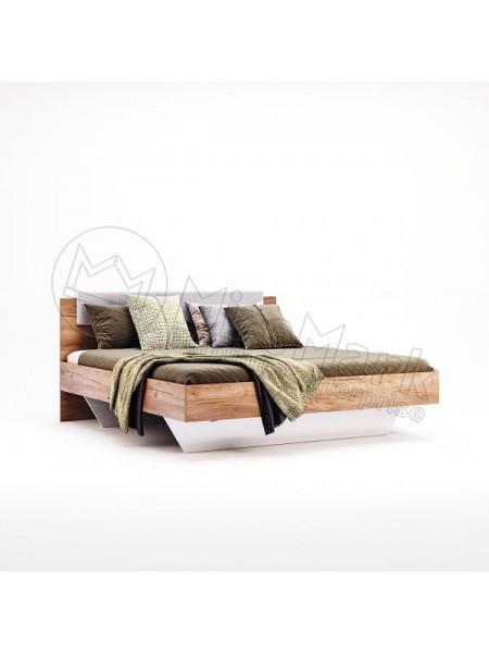 """Кровать """"Асти 1,40"""" (мягкая спинка) Миромарк"""