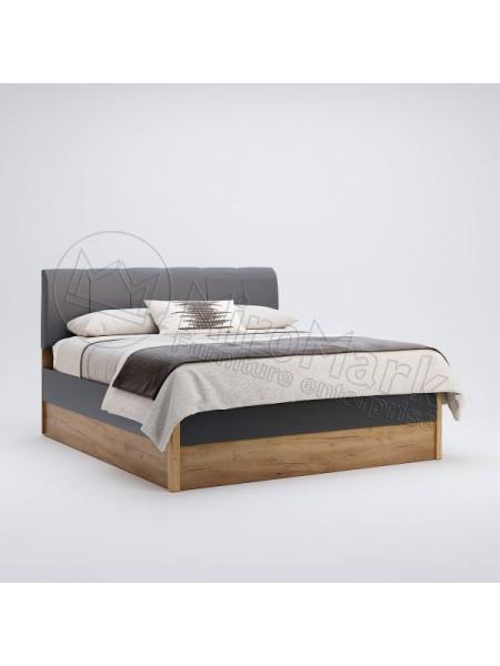 """Кровать """"Рамона"""" (мягкая спинка) Миромарк"""