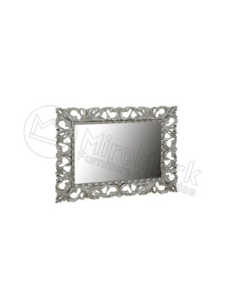 """Зеркало """"Пиония"""" 1000х800 Миромарк"""