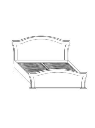 Кровать двуспальная (1,6) Николь Сокме