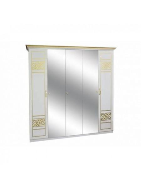 Шкаф 5ДЗ (3 зеркала) Полина новая