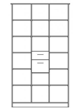 Шкаф 3Д  Сакура