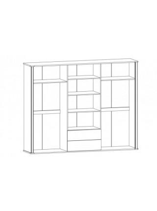 Шкаф 6Д Алабама