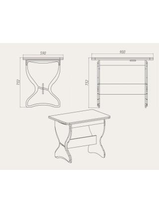 Кухонный стол «КС - 4»