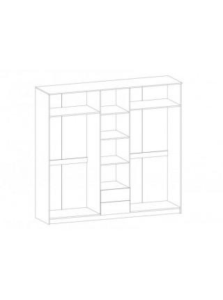Шкаф 5Д Флорис