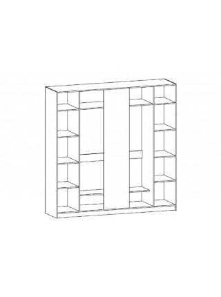 Шкаф 5Д Милано