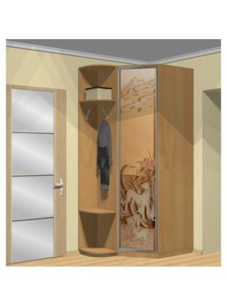 Шкаф угловой 800х950х2400 1-дверный