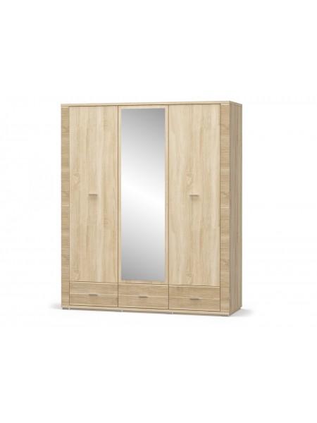 Шкаф 2Д+1Дз+3Ш Гресс